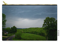 Carry-all Pouch featuring the photograph Thunderstorm by Kathryn Meyer