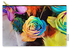 Tie Dyed Roses In Japan Carry-all Pouch