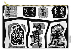 Tiger Characters Evolution2 Carry-all Pouch