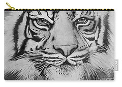 Tiger's Eyes Carry-all Pouch