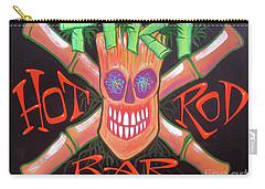 Tiki Hot Rod Bar Carry-all Pouch