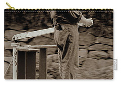 Carry-all Pouch featuring the photograph Timeless Serenity by Suzanne Stout