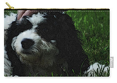 Carry-all Pouch featuring the photograph TLC by Lydia Holly
