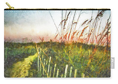 Carry-all Pouch featuring the painting To The Sea by Lynne Jenkins
