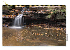 Carry-all Pouch featuring the photograph Tolliver Falls by Jeannette Hunt