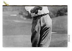 Carry-all Pouch featuring the photograph Tom Armour Wins Us Golf Title - C 1927 by International  Images
