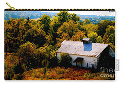Carry-all Pouch featuring the photograph Touch Of Old Country by Peggy Franz