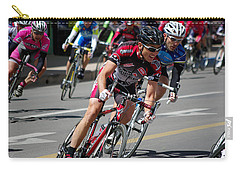 Carry-all Pouch featuring the photograph Tour Of The Gila - Criterium  by Vicki Pelham