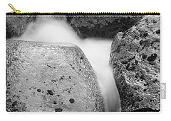 Carry-all Pouch featuring the photograph Tower Creek Detail by Doug Herr