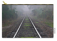 Tracks In Fog Carry-all Pouch