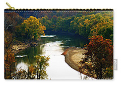Carry-all Pouch featuring the photograph Tranquil View by Peggy Franz