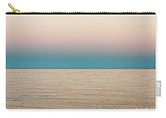 Tranquility On The Ocean Horizon Carry-all Pouch by Carol F Austin