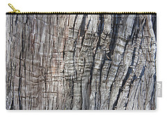 Tree Bark No. 1 Stress Lines Carry-all Pouch by Lynn Palmer