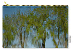 Tree Line Reflections Carry-all Pouch