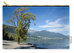 Tree On The Beach Carry-all Pouch