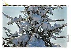 Carry-all Pouch featuring the photograph Tree Top by Mark Dodd