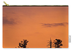 Trees At Sunset Carry-all Pouch