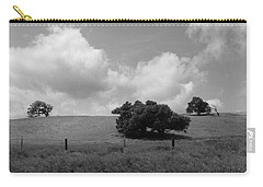 Carry-all Pouch featuring the photograph Trees On The Hillrise by Kathleen Grace