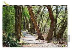Carry-all Pouch featuring the photograph Trestle Walk by Kathryn Meyer