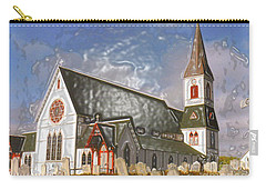 Carry-all Pouch featuring the photograph Trinity  by Lydia Holly