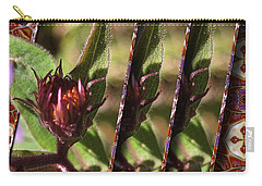 Carry-all Pouch featuring the photograph Triple Buds by Mario Carini