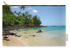 Carry-all Pouch featuring the photograph Tropical Paradise by Lynn Bauer