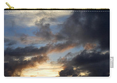 Tropical Sunset Carry-all Pouch by Fabrizio Troiani