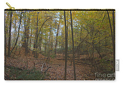 Carry-all Pouch featuring the photograph Tryon Park by William Norton