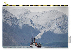 Tss Earnslaw Steamboat Against The Southern Alps Carry-all Pouch