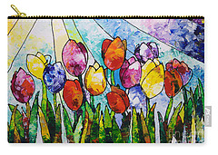 Tulips On Parade Carry-all Pouch