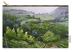 Tuscan Vinyard Painting Carry-all Pouch