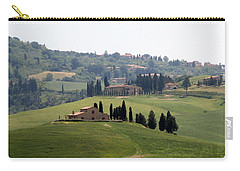 Carry-all Pouch featuring the photograph Tuscany by Carla Parris