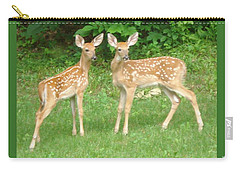 Two Little Deer Carry-all Pouch