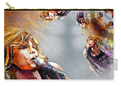 Tyler Mania Carry-all Pouch by Miki De Goodaboom