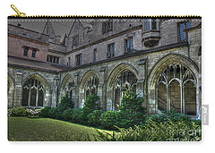 U Of C Grounds Carry-all Pouch by David Bearden