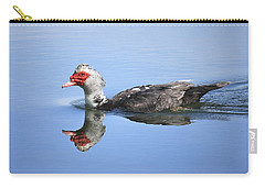 Carry-all Pouch featuring the photograph Ugly Duckling by Penny Meyers