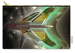 Carry-all Pouch featuring the digital art Ultra Fractal F-40 by Mario Carini