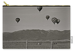 Carry-all Pouch featuring the photograph Unconcerned Lamas by Eric Tressler