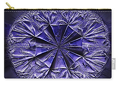 Underlying Structure Carry-all Pouch by Danuta Bennett