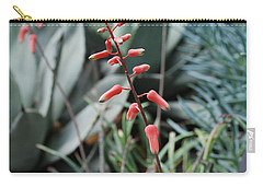 Carry-all Pouch featuring the photograph Unique Flower by Jennifer Ancker