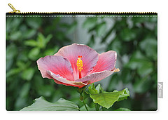 Carry-all Pouch featuring the photograph Unusual Flower by Jennifer Ancker