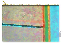 Carry-all Pouch featuring the digital art Up And Over by Richard Laeton
