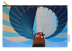 Carry-all Pouch featuring the photograph Up Into The Blue. Oshkosh 2012. by Ausra Huntington nee Paulauskaite