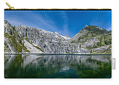 Upper Canyon Creek Lake Panorama Carry-all Pouch