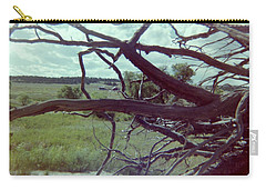 Carry-all Pouch featuring the photograph Uprooted by Bonfire Photography