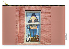 Carry-all Pouch featuring the photograph Urban Window 2 by Lenore Senior