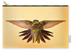 Carry-all Pouch featuring the photograph Usaf Hummingbirds Wings by Randall Branham