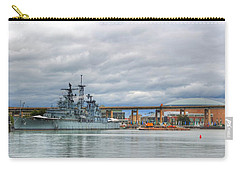Carry-all Pouch featuring the photograph Uss Little Rock by Michael Frank Jr