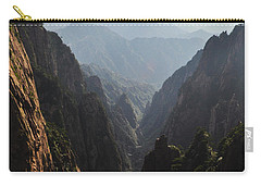 Valley In Huangshan Carry-all Pouch