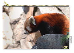Valley Of The Red Panda Carry-all Pouch by LeeAnn McLaneGoetz McLaneGoetzStudioLLCcom